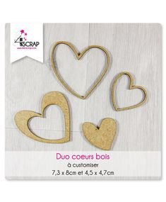 """Duo Minis Coeurs"" #amour #SaintValentin #Valentinesday #scrapbooking #DIY #loisirscréatifs #carte #carterie Mini Albums, Scrapbooking Diy, Letters, Mini Heart, Minis, Love, Woodwind Instrument, Letter, Lettering"