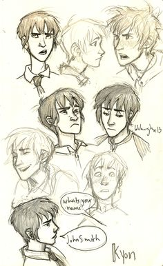 Really great character sketches by Burdge http://burdge.deviantart.com/