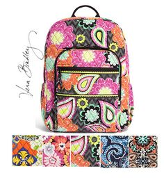 Campus Backpack | Vera Bradley Backpack - Caroline And Company