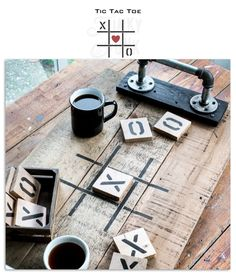 Tic Tac Toe Valentine's Day stencil by Funky Junk's Old Sign Stencils Sign Stencils, Stencil Diy, Stencil Designs, Welcome Wood Sign, Coffee Bar Signs, Barn Wood Signs, Funky Junk Interiors, Antique Signs, Tic Tac Toe