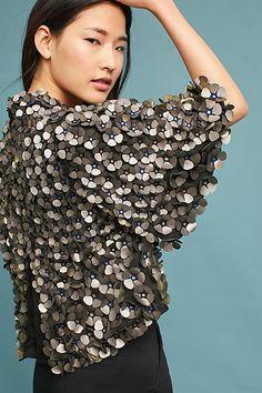 Anthropologie Floral Applique Shrug Sweater #ad #AnthroFave #AnthroRegistry Anthropologie