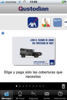Axa, paga sólo lo que necesitas #MarketingMovil http://blog.es.qustodian.com/?p=1162