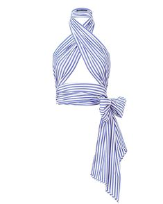 MDS Stripes Everything Scarf Wrap Top