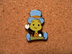 Other Disney Patches & Pins Disney Trading Pins, Disney Pins, Disney Patches, Jiminy Cricket, Cool Pins, Cute Disney, Disney Vacations, Disney Magic, Iron On Patches