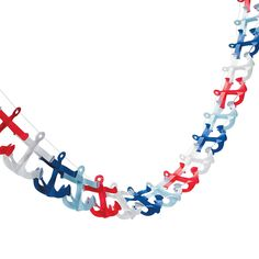 Nautical Anchor Garland - OrientalTrading.com birthday party theme for you? Pin-up/nautical?