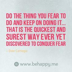 Dale Carnegie - quote inspiration motivation wisdom