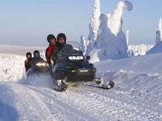 #Snowmobileride