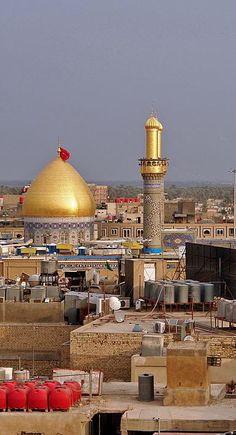 The shrine of Abbas Ibn Ali in Karbala, Iraq