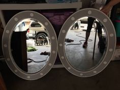 2 mirrors from the Beverly Hills Hotel $50 for both.