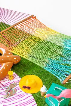 DIY Tie Dye Rainbow