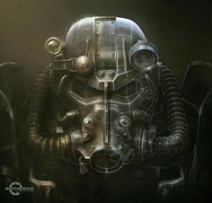 Bethesda celebrates the double birthday of Fallout 4 and The Elder Scrolls V: Skyrim. The two action-RPG do 4 and 8 years. Fallout 4 Power Armor, Fallout 4 Armour, Fallout 4 Weapons, Fallout 4 Mods, Fallout Cosplay, Fallout Art, Fallout 4 Concept Art, Play Fallout, Fallout Tattoo