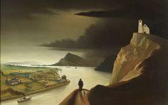 Franz Sedlacek - Industrial Landscape. 1934. [3143x1979]