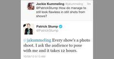 Patrick Stump's 14 Sassiest Twitter Comebacks