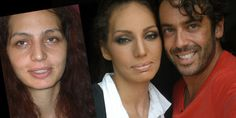 Making of - Before & after Hair + make-up by Panos Kallitsis