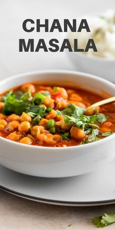 Learn how to make authentic Chana Masala - made with a few pantry essentials, including chickpeas, spices, and tomatoes, it's tasty and so easy to make. Enjoy it with a bowl of Basmati rice, quinoa, naan, or in a Buddha bowl. | realandvibrant.com #realandvibrant #chanamasala #indianrecipes Best Indian Recipes, Asian Recipes, Ethnic Recipes, Vegan Recipes Easy, Vegetarian Recipes, Indian Chickpea Curry, Easy Vegan Dinner, Pantry Essentials