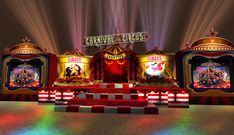 Image result for circus set design