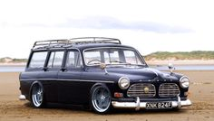 Not sure about slamming a Volvo estate that low, but it looks great otherwise.