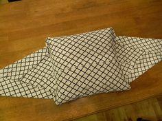 Наволочка для подушки без шитья