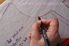 Sentarse a Coser: Como hacer las vistas de una prenda