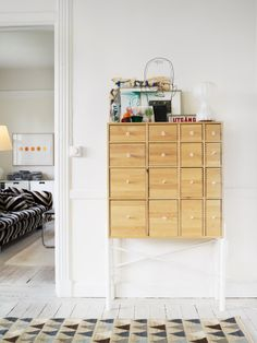 I almost bought an identical cabinet from Ikea. I've regretted it since. It's kind of perfect  Via Design traveller