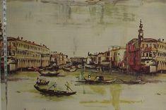Venice fabric antique Italian painting from Brick House Fabric: Novelty Fabric