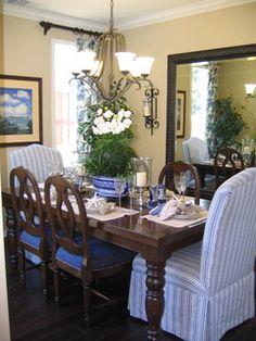 Coastal Inspired dining room - traditional - dining room - san diego - by Coastal Decor, Nicole Rice