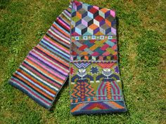 Foolish Virgins Scarf by Kaffe Fassett