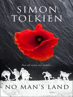 Yes, Simon Tolkien is the grandson of J.R.R., of 'The Hobbit' fame. What's more, his most recent novel, NO MAN'S LAND, takes his grandfather's service in World War I as its inspiration.