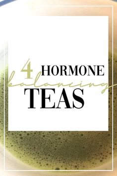 Click through to check out these 4 delicious teas that are amazing at balancing hormones! Plus, get tips on finding the right hormone balancing herbal tea for YOU. These are great whether you have PCOS or other hormone imbalance conditions Wellness Tips, Health And Wellness, Health Exercise, Équilibrer Les Hormones, Female Hormones, Health Benefits, Health Tips, Tea Benefits, Health Facts