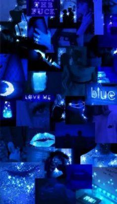 Badass Wallpaper Iphone, Cute Blue Wallpaper, Bad Girl Wallpaper, Mood Wallpaper, Iphone Wallpaper Tumblr Aesthetic, Black Aesthetic Wallpaper, Colorful Wallpaper, Aesthetic Wallpapers, Blue Aesthetic Dark