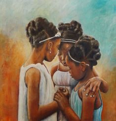 Super african art for kids daughters Ideas Black Art Painting, Black Artwork, Love Painting, Black Girl Art, Art Girl, Black Girls, Black Art Pictures, Natural Hair Art, By Any Means Necessary