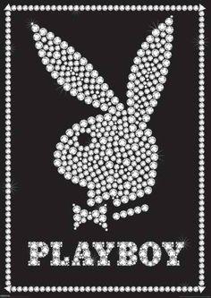 Playboy Logo Background : playboy, background, Things, Playboy
