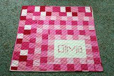name blanket/ baby blanket?