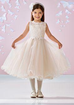 111d7f7efe2 Joan Calabrese by Mon Cheri. Tulle Flower GirlGold Flower Girl  DressesDesigner ...