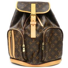 LOUIS VUITTON Monogram Sac A Dos Bosphore Backpack M40107 Used F/S