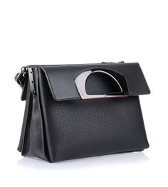 Passage black messenger bag Christian Louboutin - Savannah's