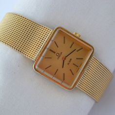 Vintage Omega De Ville Cal.625 Gold Plated Ladies Hand Wind Watch 930 £289.00