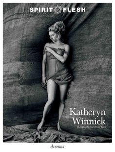 KATHERYN WINNICK GETS THE COVER OF SPIRIT & FLESH MAGAZINE