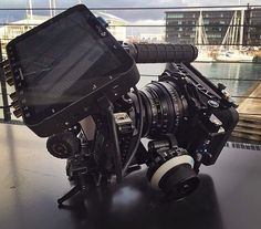 This is a #MONSTER Sony A7sii cinema style rig by @kristait by film.rev