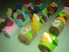 Roll cake tutorial (in indonesian)