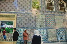 a planoply of mosque tiles, Istanbul
