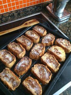 Torrijas al horno (rápidas, fáciles y un poquito más sanas que las fritas :)) | SLOANE STREET