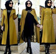 Turkish Abaya Fashion – 20 Ways to Wear Turkish Style Abaya – Hijab Fashion 2020 Modern Hijab Fashion, Hijab Fashion Inspiration, Abaya Fashion, Muslim Fashion, Modest Fashion, Hijab Dress, Hijab Outfit, Hijab Turkish, Turkish Fashion