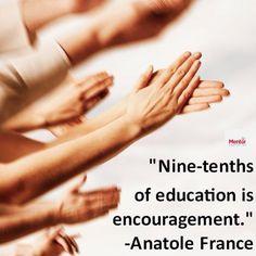 Quote of encouragement #education