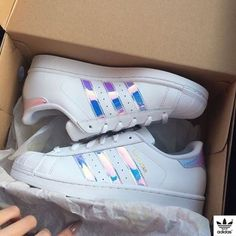 f68a768682e Adidas Women Shoes - www. Adidas holographic superstar Brand new in box     Size 4 in kids    fits size 5 or in womens Adidas Shoes Sneakers - We  reveal the ...