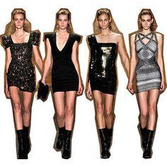 Beautiful Balmain Dresses and i want it all!