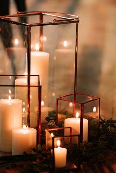 modern candle lanterns