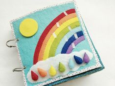 Snap on bow tie quiet book page. Learning colors , Children's felt quiet book for kids, toddlers,preschoolers – Infant Activities, Book Activities, Baby Crafts, Diy And Crafts, Diy Quiet Books, Diy Bebe, Selling Handmade Items, Baby Blog, Busy Book