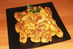 Retete Culinare - Nuggets Food Inspiration, Carne, Cauliflower, Chips, Appetizers, Snacks, Chicken, Meat, Vegetables