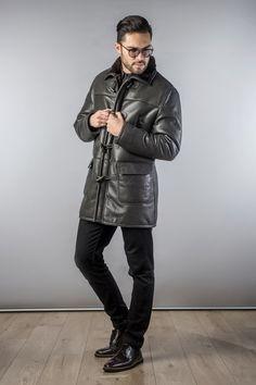 Fur Coat 334 Dark Grey (1)